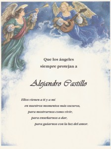 Angel Verse Spanish